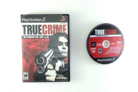 True Crimes Streets of LA game for Playstation 2 | The ...