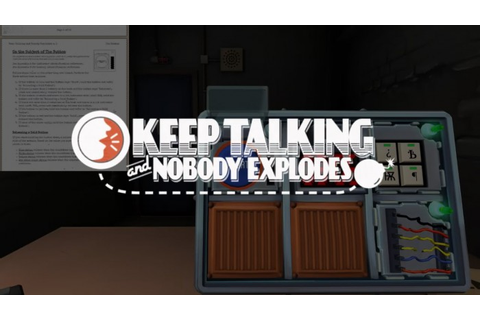 Keep Talking And Nobody Explodes: Bomb Defusing Game Review