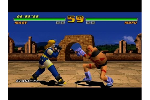 Tobal 2 Gameplay (PlayStation,PSX,PS1) - YouTube