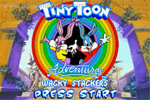 Tiny Toon Adventures: Wacky Stackers - Nintendo Game Boy ...