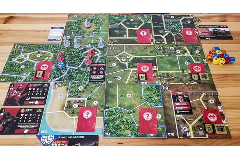 Jagged Alliance: The Board Game Review | Co-op Board Games