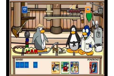 Club Penguin - Card Jitsu - Gary the Gadget Guy (Water 11 ...