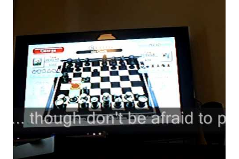 Wii Chess game review - YouTube