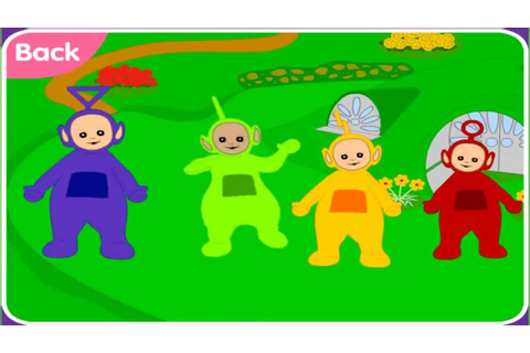 TELETUBBIES - TELETUBBIES DANCE - TELETUBBIES GAME - YouTube
