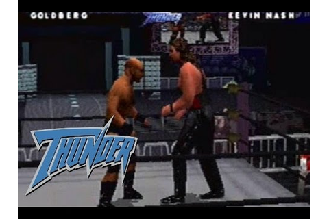 WCW/nWo Thunder (PlayStation 1) - YouTube