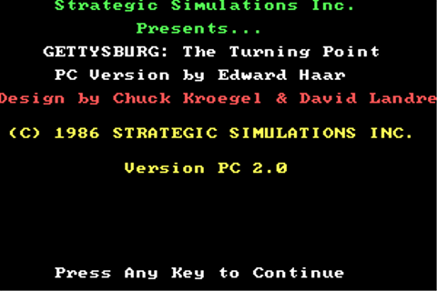 Download Gettysburg: The Turning Point - My Abandonware