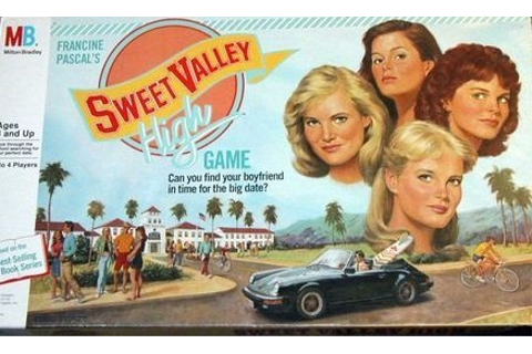 I'm Remembering!, Sweet Valley High Board Game