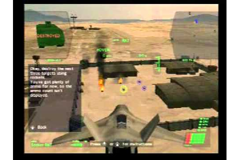 Dropship: United Peace Force (PS2) - Gameplay - YouTube