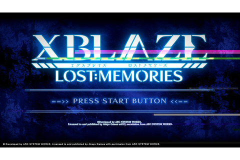 XBlaze Lost: Memories - Free Full Download | CODEX PC Games