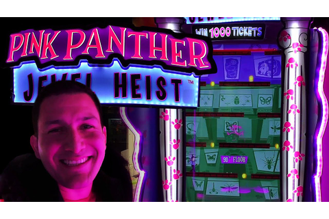 Pink Panther Jewel Heist - Arcade Ticket Game - YouTube