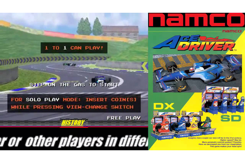 Arcade Racing History: Ace Driver Namco 1994 - YouTube