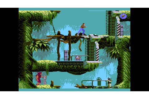 Flashback : The Quest of Identity (Sega-CD) - Level 1 ...