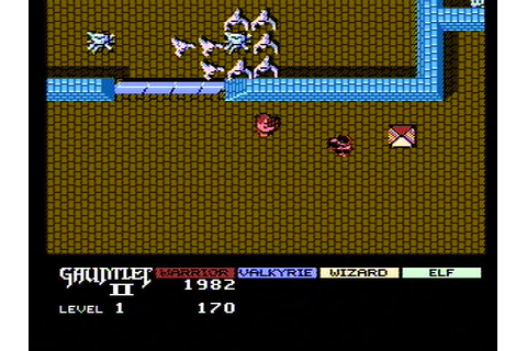 Gauntlet II NES The first level