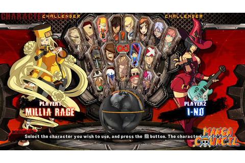 Guilty Gear Xrd -Sign- Save Game | Manga Council