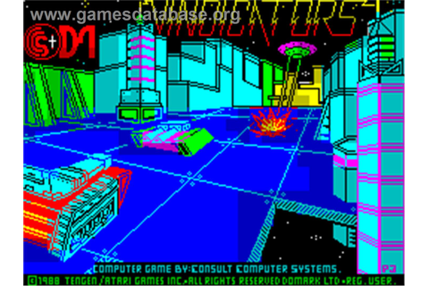 Vindicators - Sinclair ZX Spectrum - Games Database