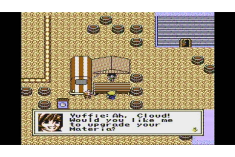 Final Fantasy 7 Demake (NES) - Yuffie IS in the game ...