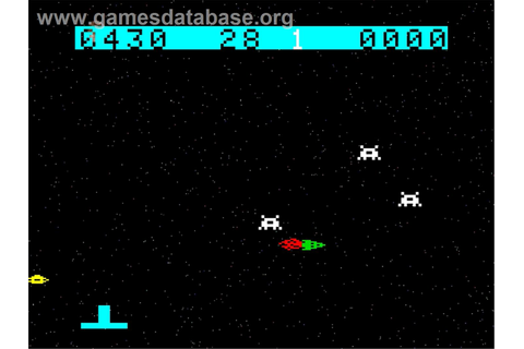 Space Raiders - Emerson Arcadia 2001 - Games Database