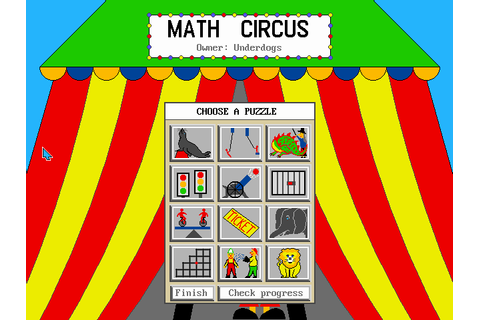 Idwal • Blog Archive • Download M*A*T*H*S Circus game