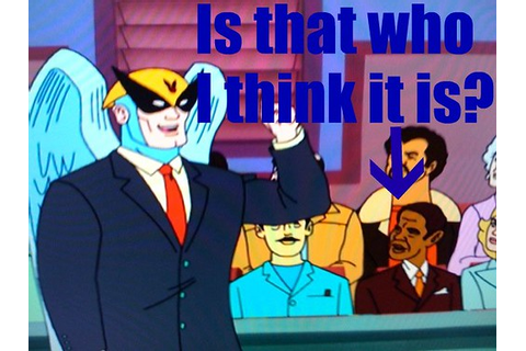 Is that Obama in the Harvey Birdman game? - A+E Interactive