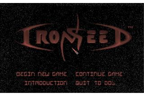 Iron Seed Download (1994 Strategy Game)