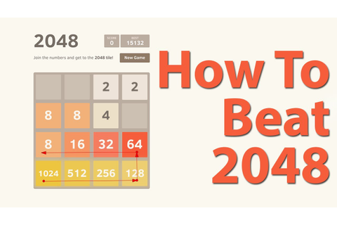 How To Beat 2048 (Best Strategy Tips For Beating 2048 Game ...