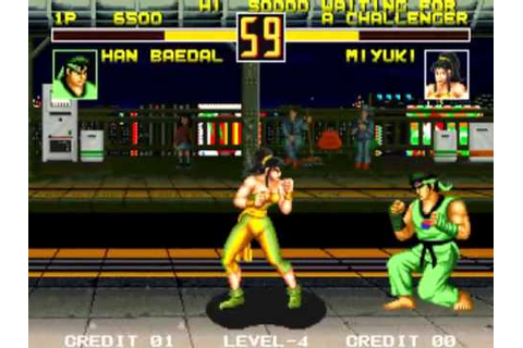 Fight Fever set 1 MAME Gameplay video Snapshot -Rom name ...