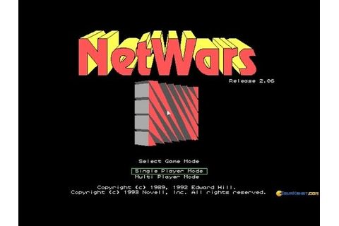Netwars gameplay (PC Game, 1993) - YouTube