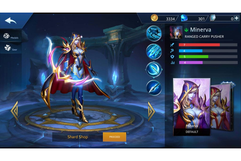 Minerva Build Guide In Heroes Evolved Mobile Game