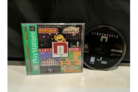 Namco Museum Vol. 1 for Playstation PS1 Video Game ...
