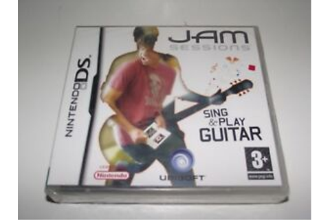 Jam Sessions Nintendo DS 2DS 3DS Game *Complete* Music ...