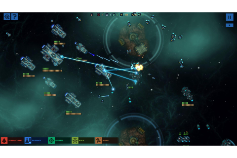 Engage in real-time interstellar warfare with Battlevoid ...