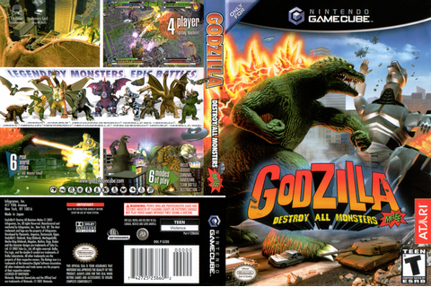 GZDE70 - Godzilla: Destroy all Monsters Melee