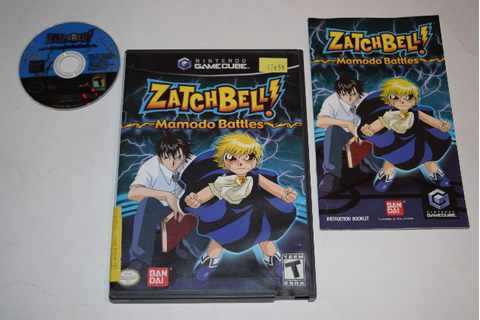 Zatch Bell! Mamodo Battles Nintendo GameCube Video Game ...