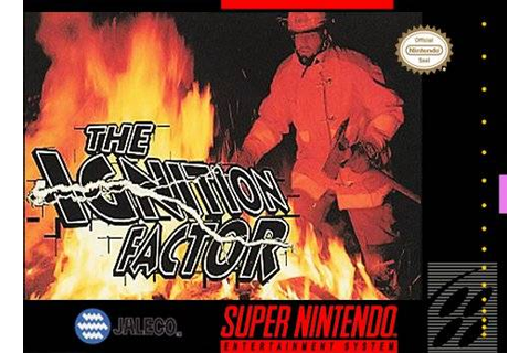 Ignition Factor SNES Super Nintendo