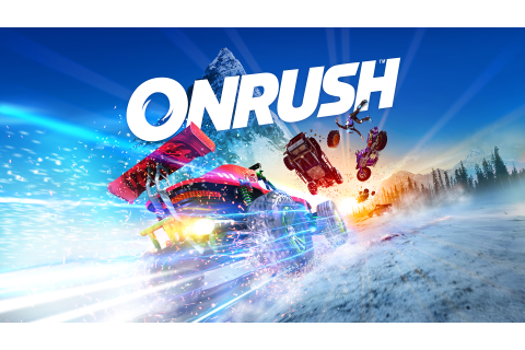 Arcade Racing Game ONRUSH Due on June 5th; Pre-Order ...