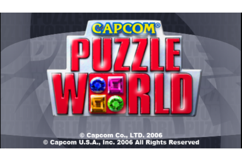 Capcom Puzzle World PSP ISO Free Download - Free PSP Games ...
