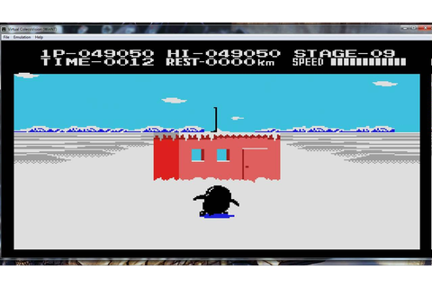 Antarctic Adventure (Colecovision) gameplay - YouTube