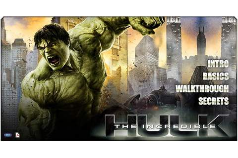 The Incredible Hulk Game Download ~ Download PC Games | PC ...