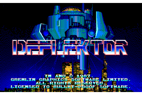 Deflektor (1991) by Bullet Proof Software NEC PC9801 game