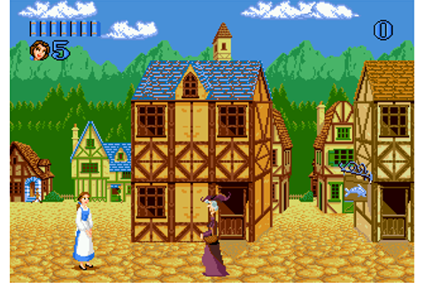 Play Beauty and the Beast - Belle's Quest Sega Genesis ...
