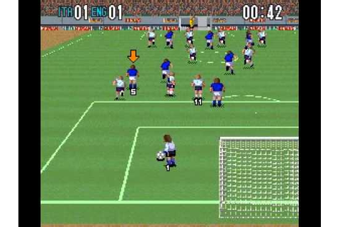 SNES Super Formation Soccer II - YouTube