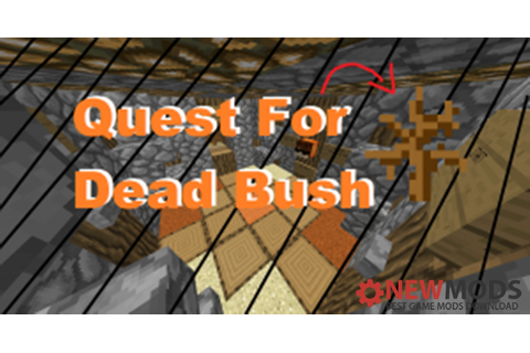 Minecraft - Quest for Dead Bush Puzzle Map - New PC Game ...