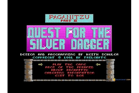 Paganitzu 2 gameplay (PC Game, 1991) - YouTube