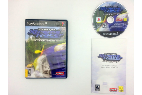 Tokyo Xtreme Racer Drift game for Sony Playstation 2 PS2 ...
