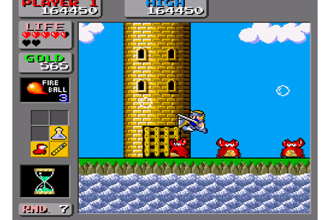 Wonder Boy in Monster Land (VC Arcade / Virtual Console ...