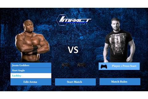 TNA Impact Wrestling Video Game - Roster Concept 2016 ...