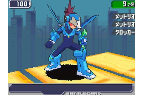 Mega Man Star Force 3 Black Ace - Nintendo DS Countdown