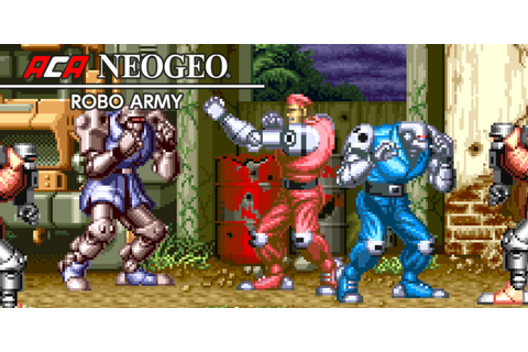 ACA NEOGEO ROBO ARMY | Nintendo Switch download software ...