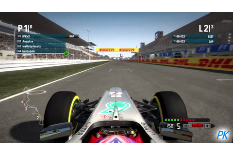 F1 2013 Game News and Mark Webber Leaving F1 in 2014 - YouTube