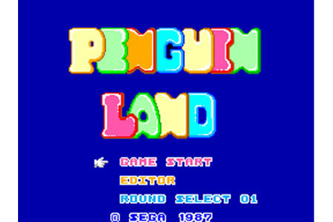 Penguin Land Review for Master System (1985) - Defunct Games